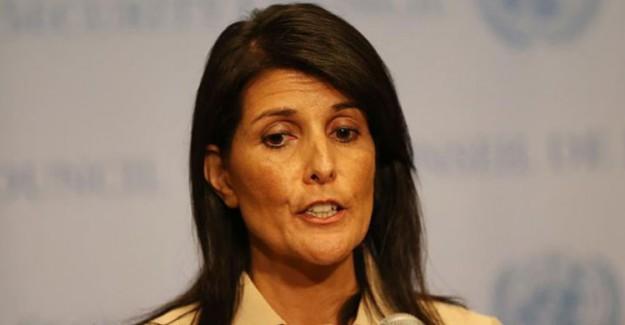 ABD'den BM'ye İran Uyarısı