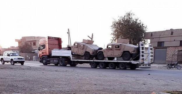 ABD'den PYD'ye Askeri Sevkiyat! ABD Önce Bombalıyor Sonra Seviyor
