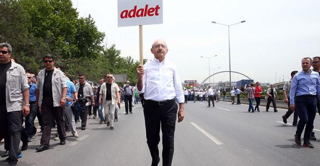 Adalet Yürüyüşüne HDP'de Dahil Oluyor