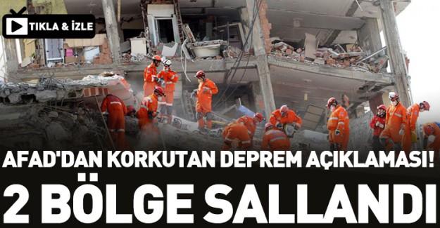 AFAD'dan Vatandaşı Korkutan Deprem Açıklaması