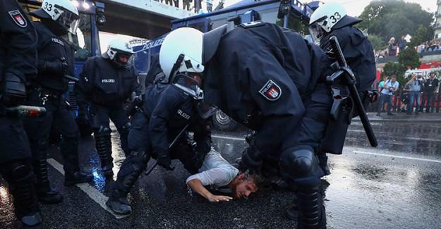 Alman Polisinden Orantısız Güç