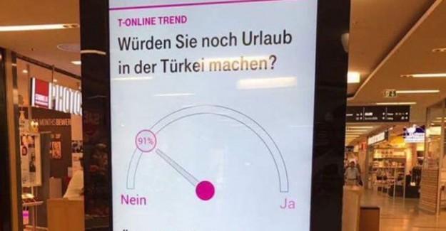 Almanların Türkiye Karşıtlığı Devam Ediyor!