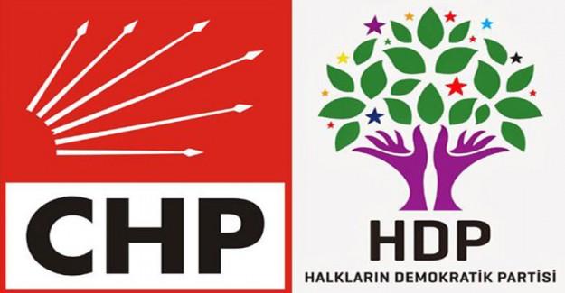 Almanya'da CHP HDP El Ele! CHP'nin Kardeş Partisi Ne De Olsa