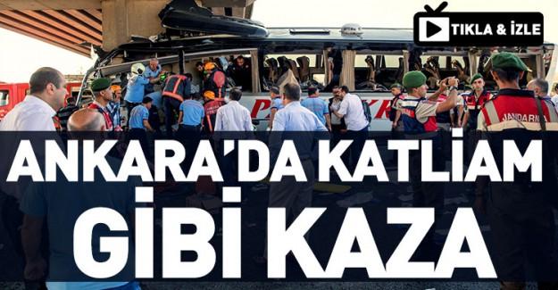 Ankara'da Katliam Gibi Kaza! 5 Ölü