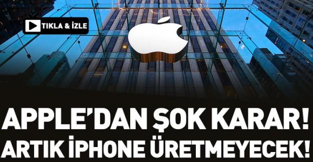Apple Artık iPhone Üretmeyecek!
