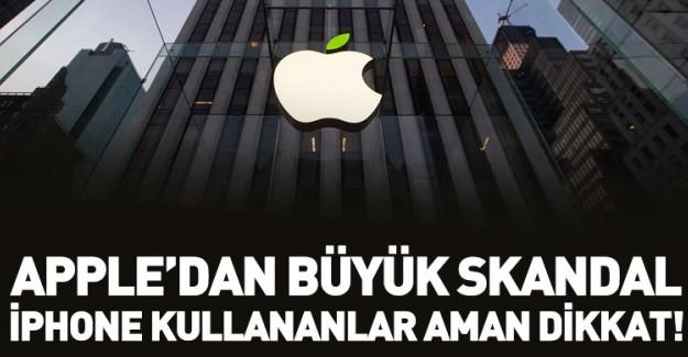 Apple'dan Skandal! Kullanıcı Bilgilerini Satıyor!