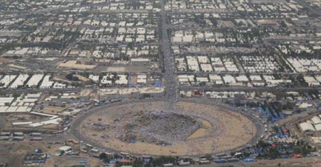 Arafat Havadan Böyle Görüntülendi!