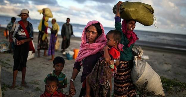 Arakan Zulmü Devam Ediyor! 400 Bin Müslüman Yerinden Edildi
