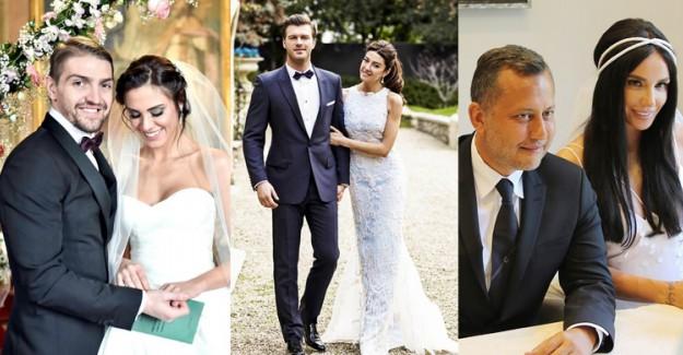 Aşklarını Taçlandırmak İçin Yurt Dışında Evlenen Ünlüler!
