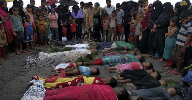 Bakan Açıkladı! Arakan'da En Az 3 Bin Müslüman Öldürüldü