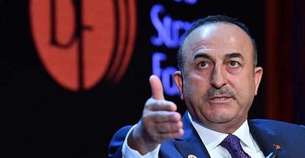 Bakan Çavuşoğlu Avrupa'ya Sert Çıktı!