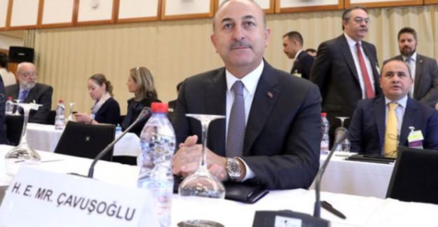 Bakan Çavuşoğlu, İsviçre'de Katıldığı Kıbrıs Konferansında Açıklama Yaptı!