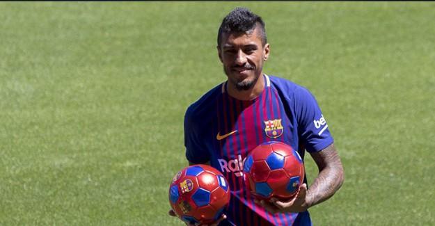 Barcelona'da Paulinho Krizi!