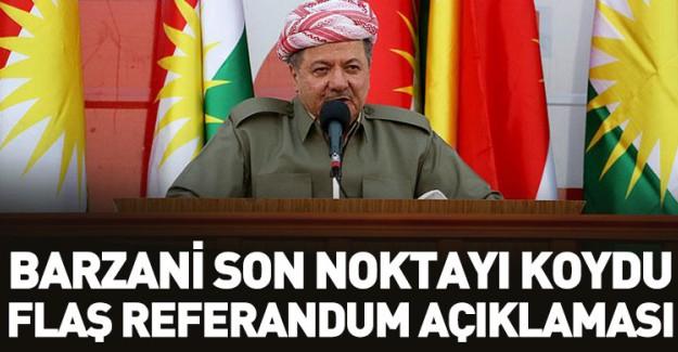 Barzani Son Noktayı Koydu! Flaş Referandum Açıklaması