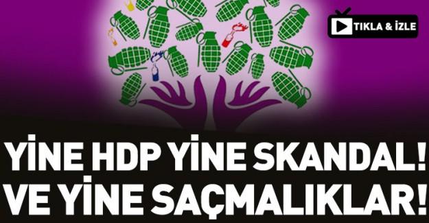 Barzani'ye Destek Veren HDP, Yine Skandala İmza Attı!