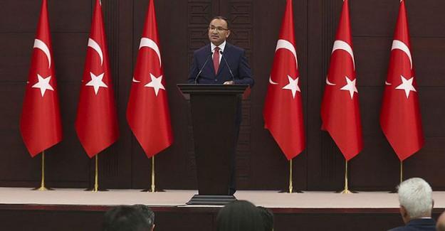 Başbakan Yardımcısı Bozdağ'dan Flaş Adil Öksüz Açıklaması