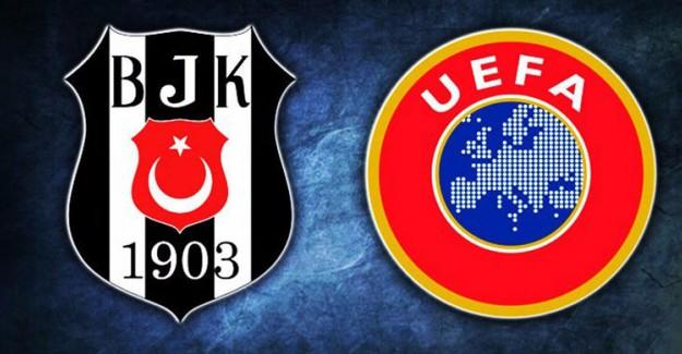 Beşiktaş'a UEFA'dan Büyük Şok! Men Cezası