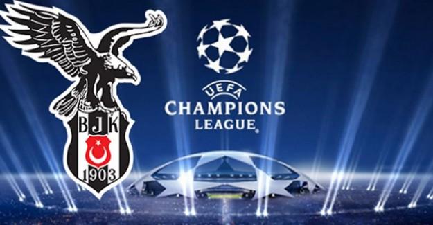 Beşiktaş'ın Şampiyonlar Ligi'nde Rakipleri Belli Oldu!