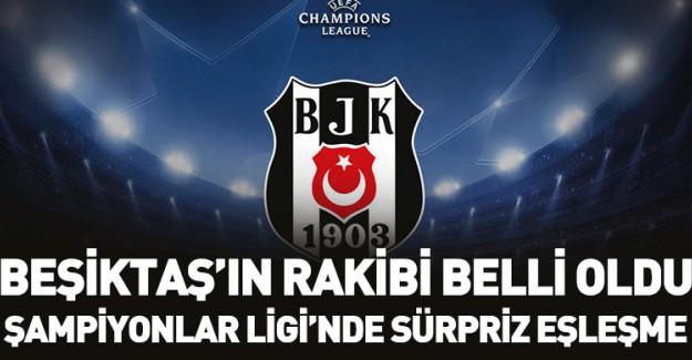 Beşiktaş'ın Son 16'daki Rakibi Belli Oldu!