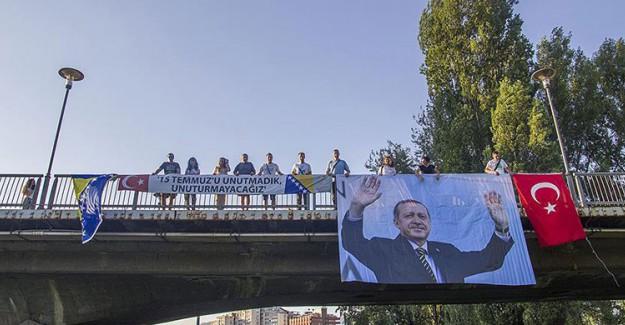 Bosna'dan '15 Temmuz'u Unutmadık' Mesajı