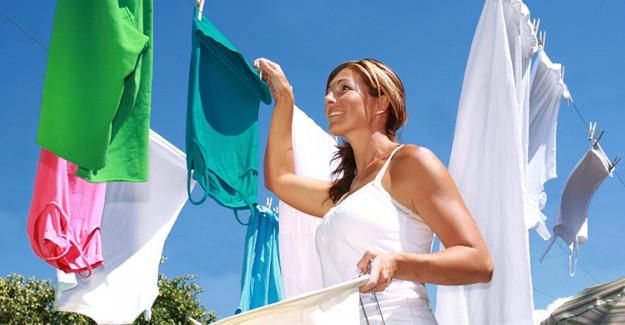 Çamaşırları En Hızlı Şekilde Kurutmanın Yolları!