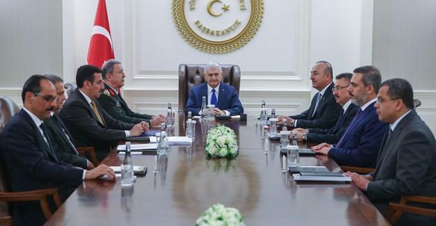 Çankaya'da Yapılan Güvenlik Toplantısında Kritik Kararlar Alındı!