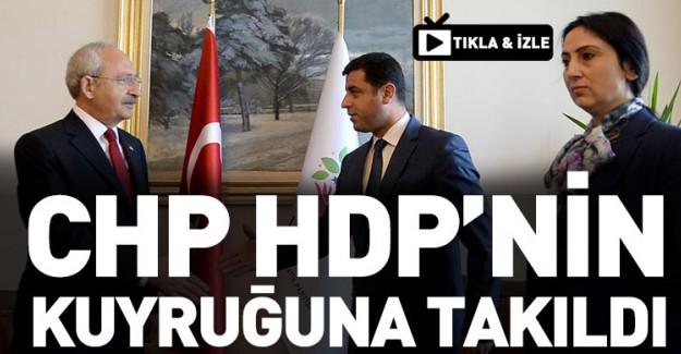 CHP İle HDP Arasında Skandal Kriz!