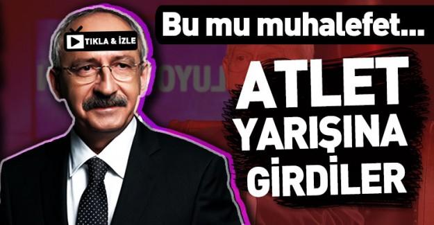 CHP'liler Atatürk'ün Atletli fotoğrafını Akın Akın Paylaşıyor
