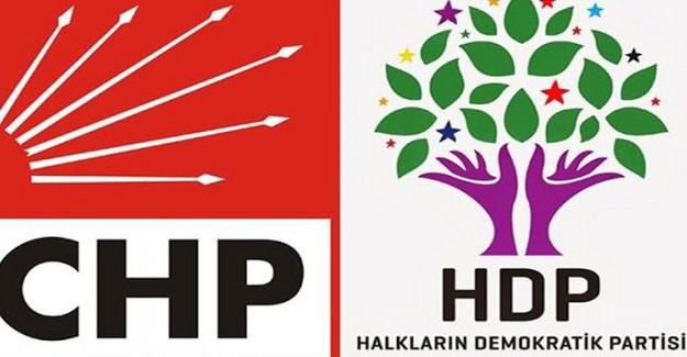 CHP'nin Yürüyüşüne HDP'den Destek! Başka Kim Destek Olur Ki