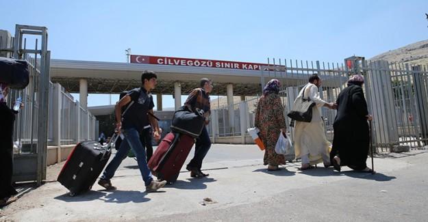 Cilvegözü Sınır Kapısı Suriyelilere Tekrar Açıldı