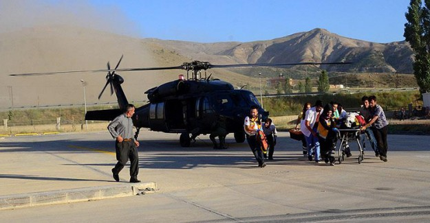 Çobanın Yardımına Askeri Helikopter Yetişti