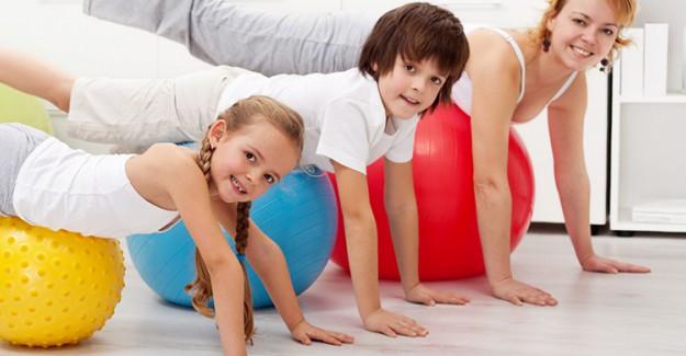 Çocuklarda Egzersiz Programları 4 Yaşında Başlamalı!