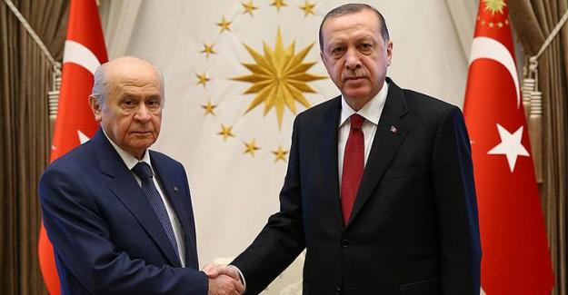 Cumhurbaşkanı MHP Lideri Bahçeli'yi Kabul Etti