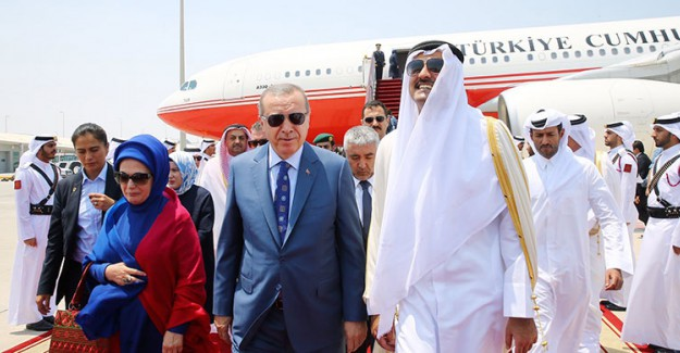 Cumhurbaşkanı Recep Tayyip Erdoğan Katar'da!
