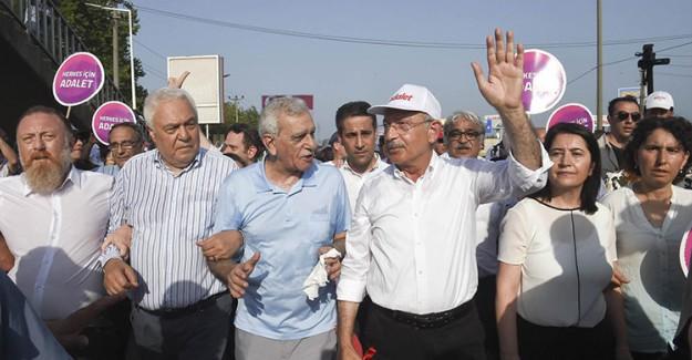 DEAŞ'ın CHP'nin Sözde Adalet Yürüyüşüne Saldırı Planının Altından Fetö Çıktı!