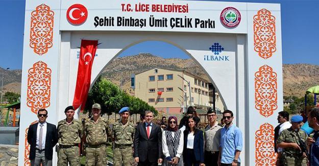 Diyarbakır Şehidinin Adı İlçe Parkına Verildi