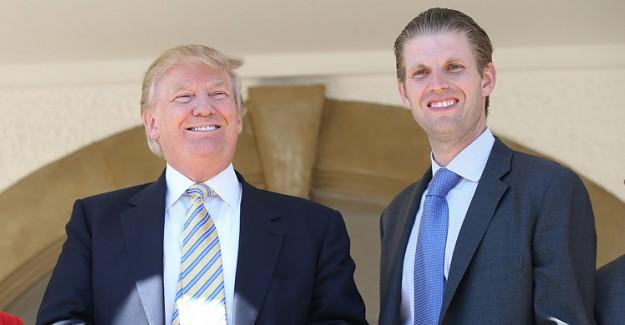 Donald Trump'ın Oğlu Eric Trump Alay Konusu Oldu!