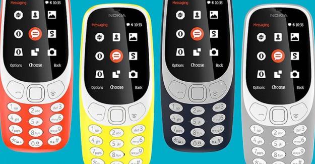 Efsane Cep Telefonu, Nokia 3310'un Türkiye'deki Fiyatı Belli Oldu!