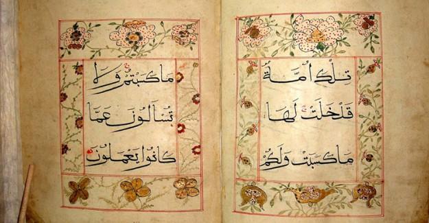 El Yazması Kur'an-ı Kerim'ler Büyük İlgi Gördü