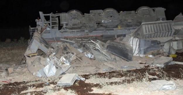 Elazığ'da Tren Raydan Çıktı! 2 Ölü