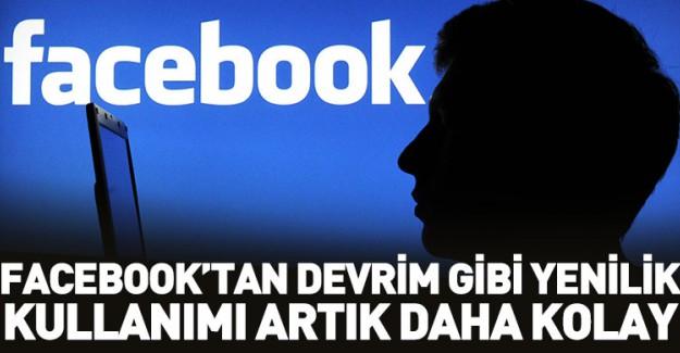 Facebook'tan Çığır Açacak Yenilik!