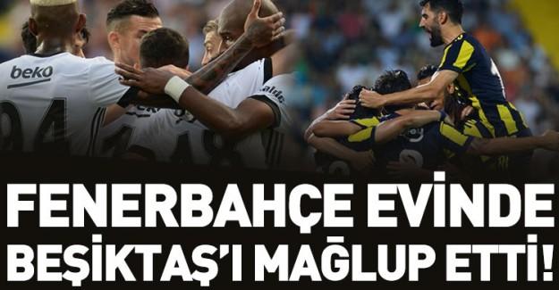Fenerbahçe Beşiktaş'ı 2-1 Mağlup Etti