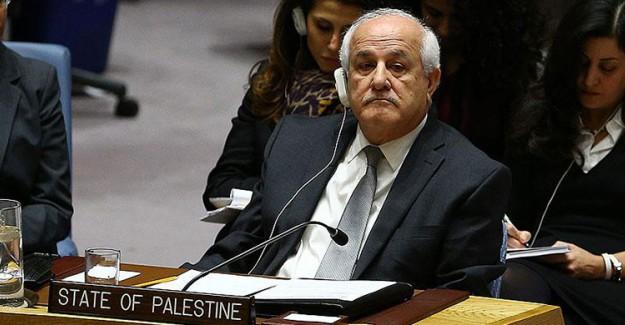 Filistin'den BM'ye Çağrı: Gereğini Yapın