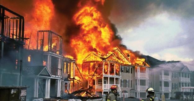 Fransa'da Yangın Faciası: Hayatını Kaybedenler Arasında Türkler'de Var!