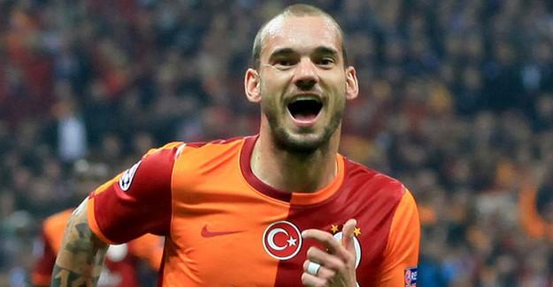 Galatasaray Sneijder'in Biletini Kesti