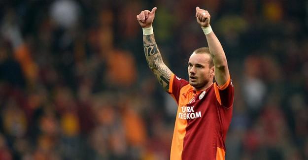 Galatasaray Sneijder'in Sözleşmesini Feshetti