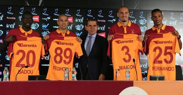 Galatasaray Transfere Tam 40 Milyon Avro Harcadı!