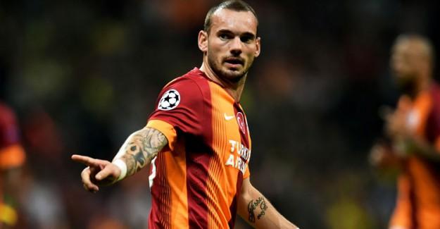 Galatasaray'a Şok! Snijder Ayrılıyor