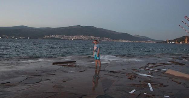 Gemsaz Sahilinde Aşırı Kirlilik