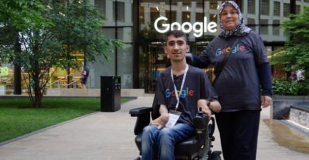 Google'dan Burs Alan İlk Türk!